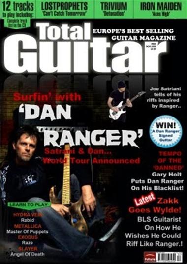 Total Guitar omslag