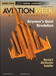 Aviation Week & Space Technology tidningsomslag