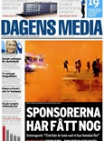 Dagens Media tidningsomslag