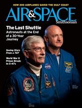 Air & Space omslag