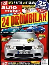 Auto Motor & Sport omslag
