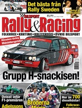 Bilsport Rally&Racing omslag
