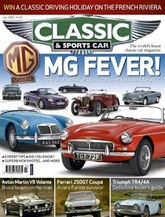 Classic And Sports Car Magazine omslag