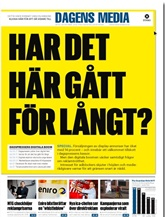 Dagens Media omslag