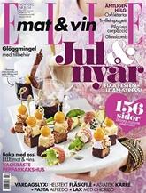 ELLE mat & vin omslag