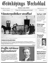 Grönköpings Veckoblad omslag