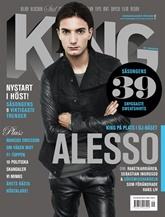 King omslag