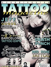 Scandinavian Tattoo Magazine omslag