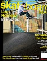 Skateboard Mag omslag