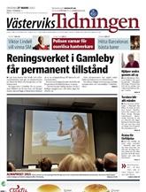 Västerviks Tidningen omslag