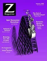 Z Magazine omslag