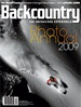Backcountry Magazine omslag